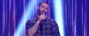 "Adam Levine and The Voice Coaches Take On ""Oops!... I Did It Again"" and More"