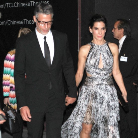 Sandra Bullock and Bryan Randall at LA Premiere 2015