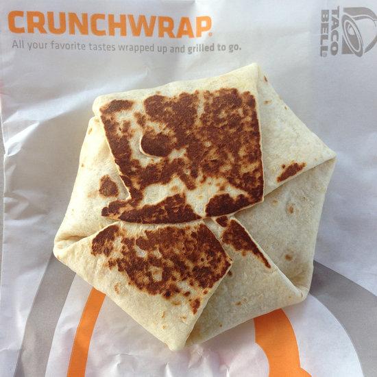 Free Taco Bell Crunchwrap