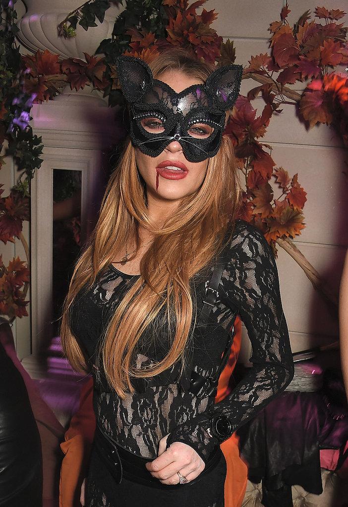 Lindsay Lohan as a Cat