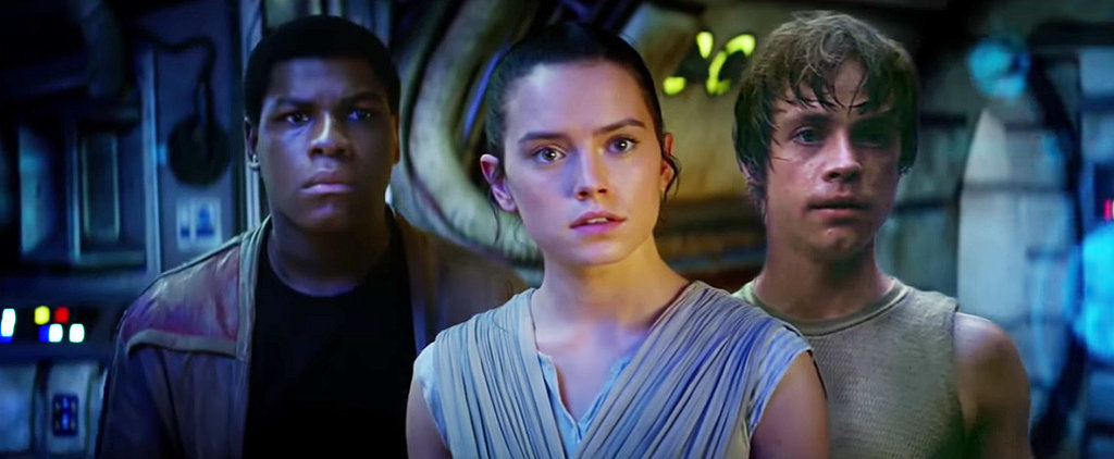 Luke Skywalker Is All Up in This Star Wars: The Force Awakens Trailer