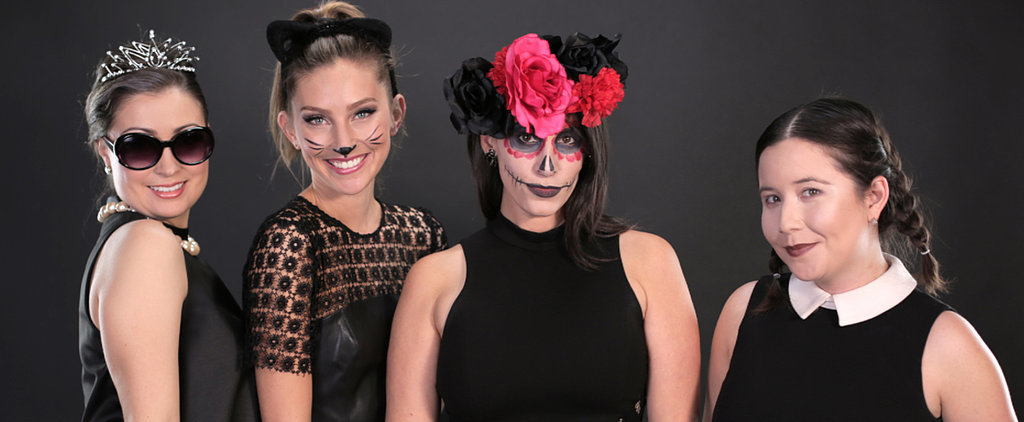 All You Need Is a Little Black Dress For These 4 Easy Costumes