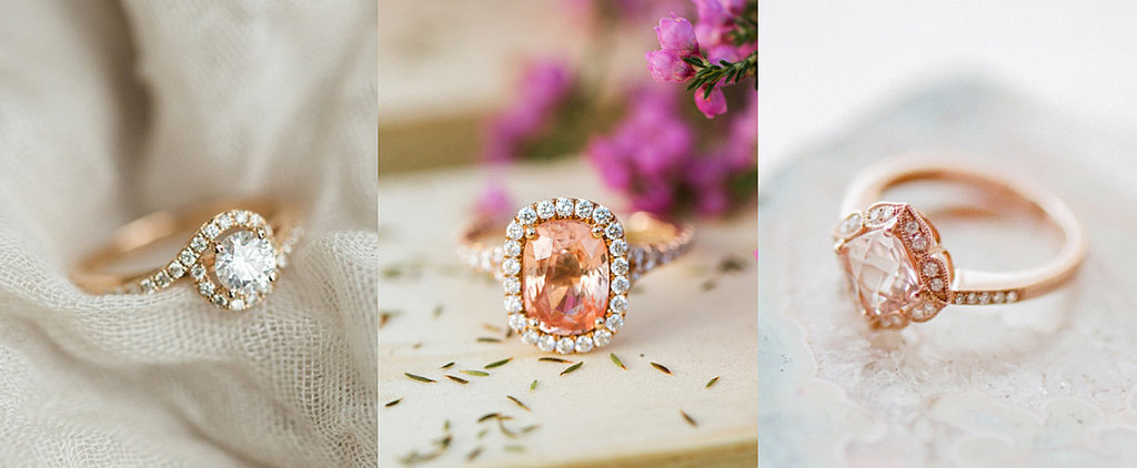 Not Your Grandmother's Rose Gold Engagement Rings