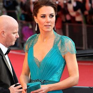 Kate Middleton in Jenny Packham Dresses