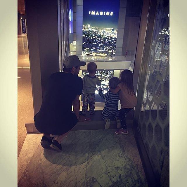 Elsa Pataky S Family Photos On Instagram Popsugar Celebrity