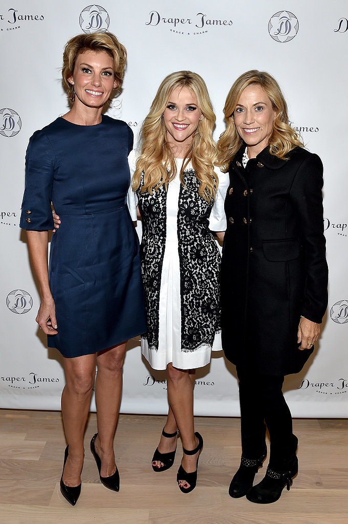 Faith Hill and Sheryl Crow also stopped by to show some support.