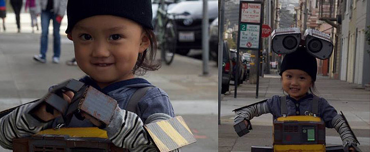 Wait Until You Read the Sweet Story Behind This Dad-Made WALL-E Costume