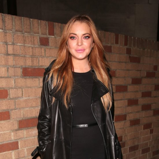 Lindsay Lohan Spotted With an Engagement Ring on Her Finger