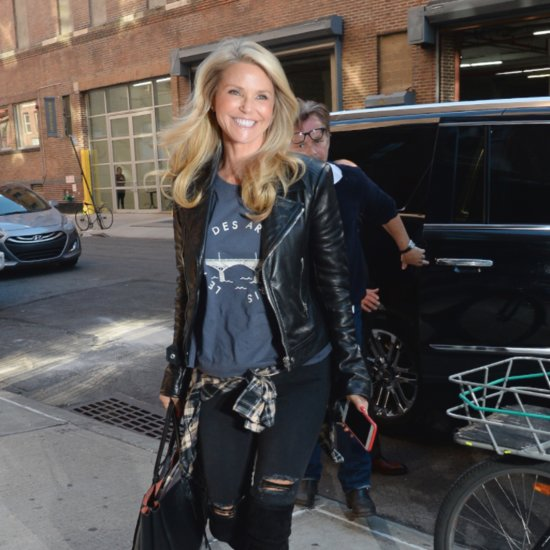 Christie Brinkley Shares a Stunning Makeup-Free Selfie on Instagram