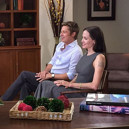 Brad Pitt and Angelina Jolie Today Show Interview 2015