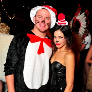 Channing Tatum and Jenna Halloween Costume 2015