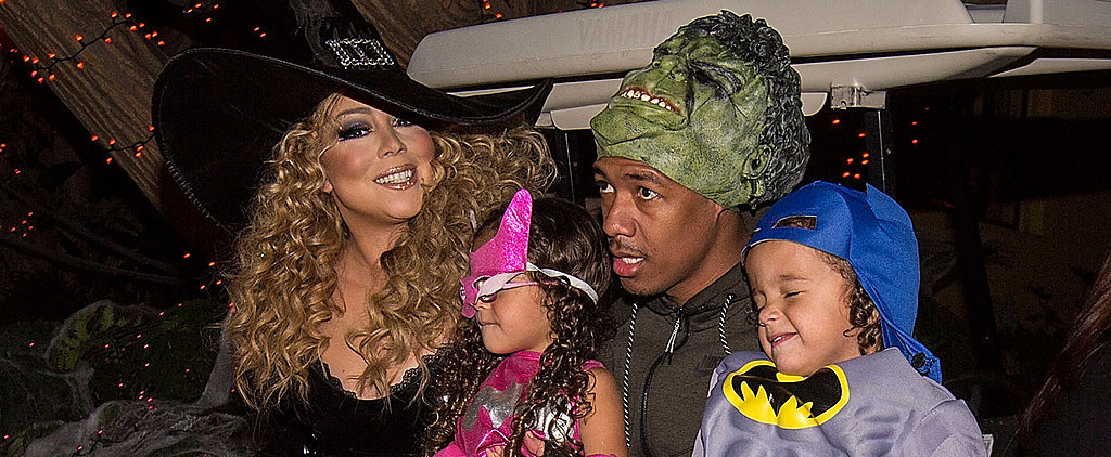 Mariah Carey Has a Spooky Reunion With Ex-Husband Nick Cannon