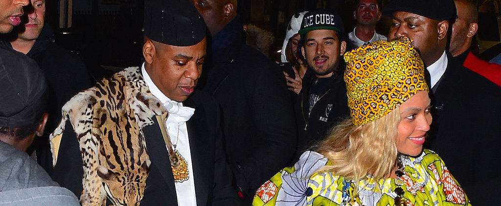 Beyoncé and Jay Z (and Blue Ivy!) Throw It All the Way Back to the '80s on Halloween
