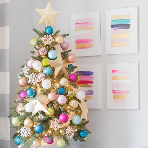 Awesome Christmas Tree Decorating Ideas In Pastel For: Unique Christmas Tree