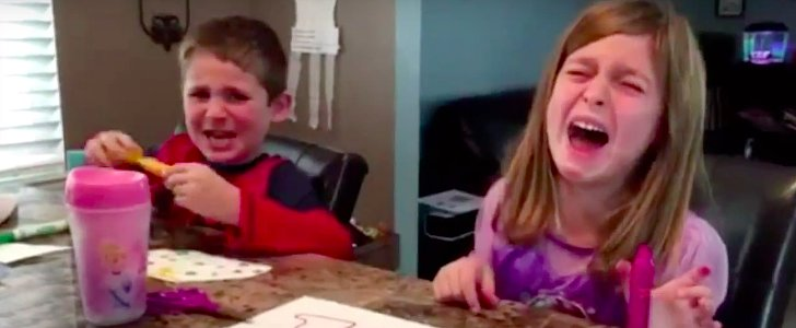 Children React to Their Parents Telling Them They've Eaten All of Their Halloween Candy