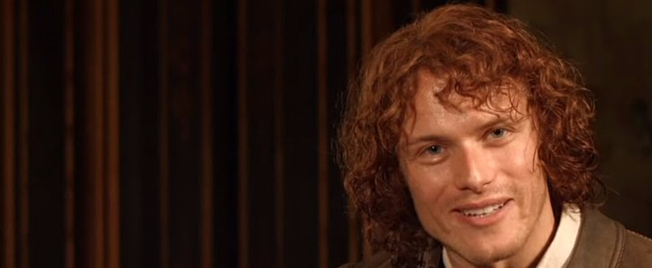 Sam Heughan Is Here to Basically Give the Outlander Season 1 Collection Directly to You