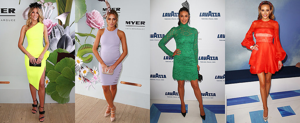 See Who's Wearing What at the Melbourne Cup Today