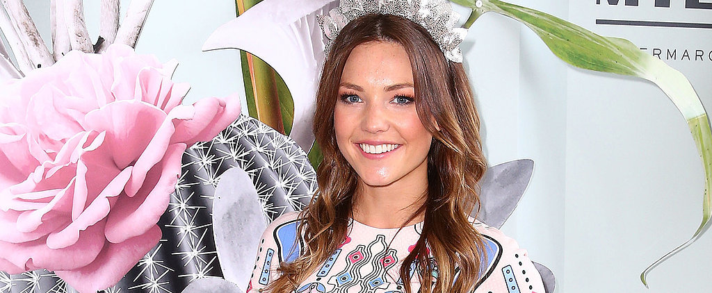 Sam Frost Sticks to Her Signature Beauty Look