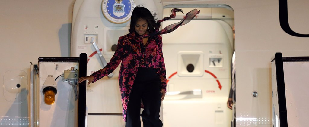 1 Airport Style Lesson Everyone Can Learn From Michelle Obama