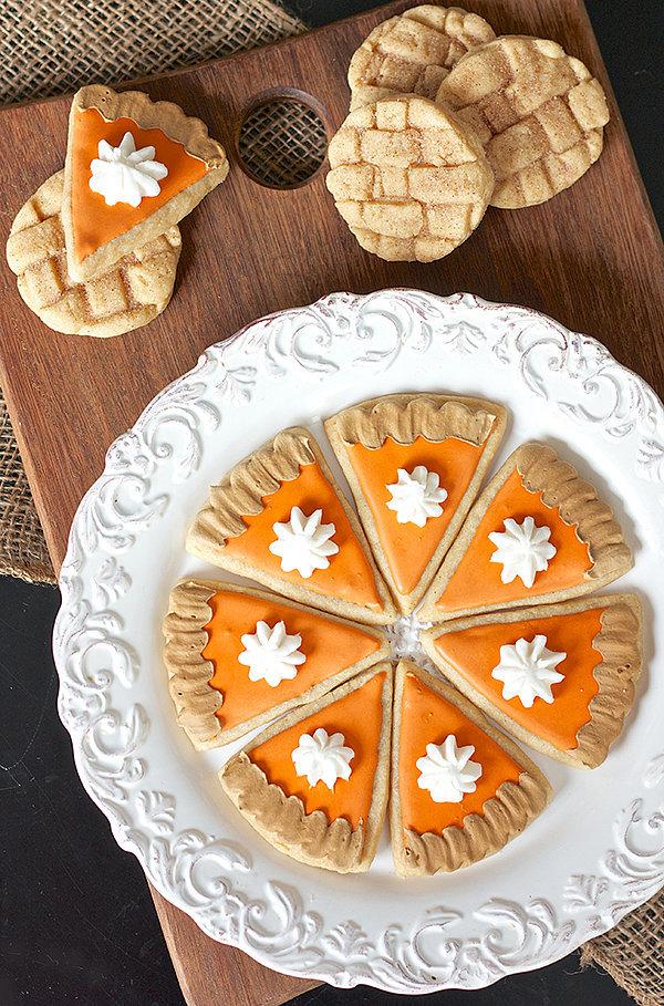 Pumpkin and Apple Pie Cookies