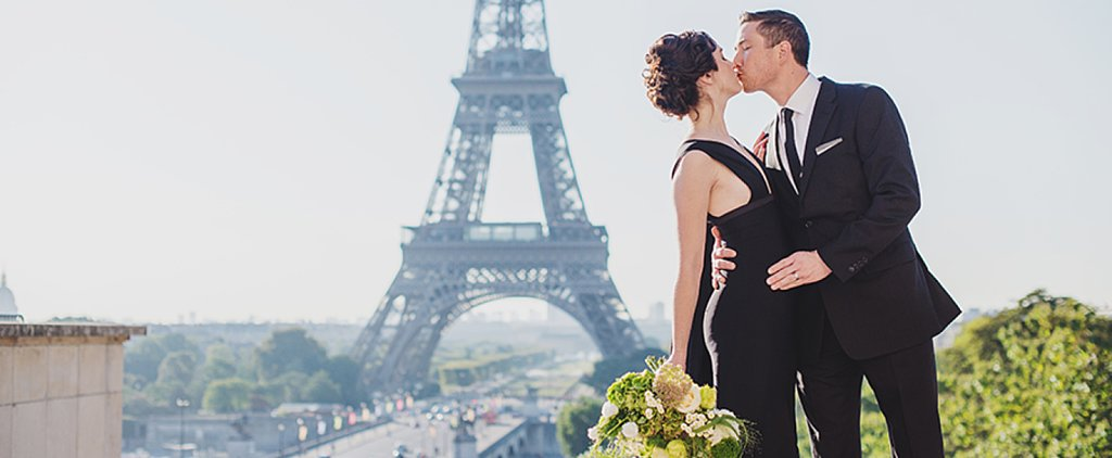 This Parisian Bride Knew How to Make a Statement on Her Big Day