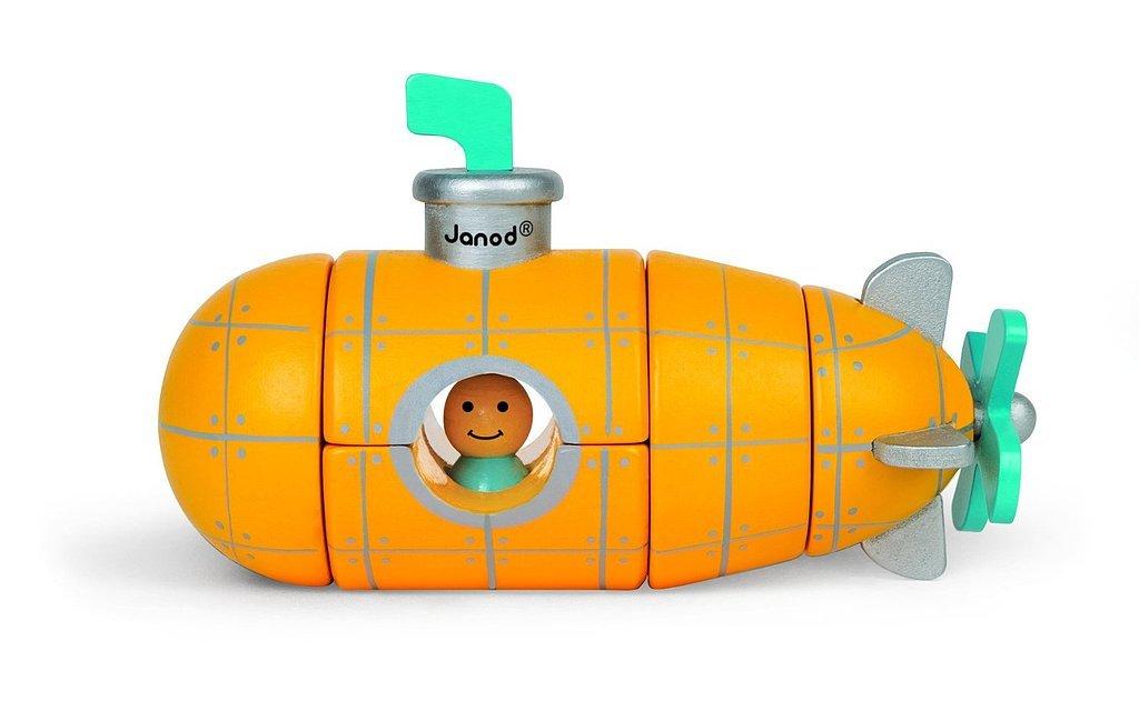 Janod Magnet Submarine Building Kit
