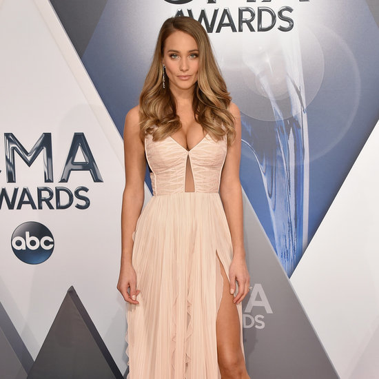 Hannah Davis Debuts Engagement Ring at the CMA Awards