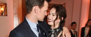 Matt Smith and Lily James Have the Look of Love in London