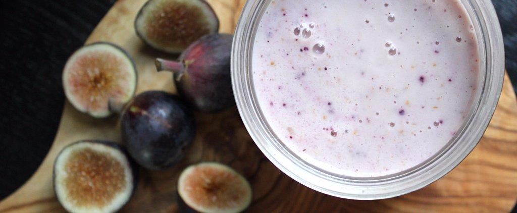 Dessert For Breakfast: Fig Honey Yogurt Smoothie