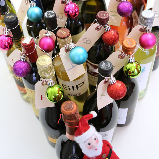 DIY Wine Advent Calendar