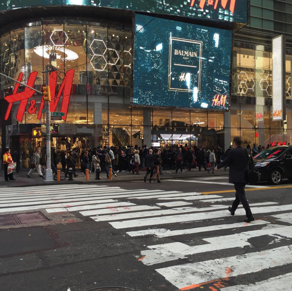In times square the line stretched around the block if for What to do around times square