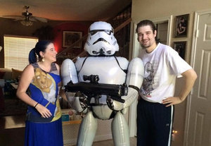 Fans Rally Behind Dying Man's Wish to See Star Wars Early