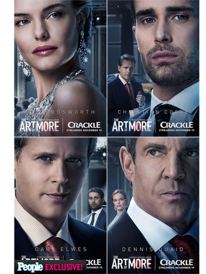 FIRST LOOK: Kate Bosworth, Dennis Quaid and Cary Elwes in The Art of More