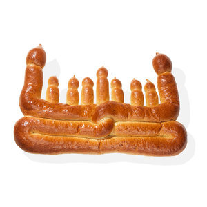Challah Menorah in Oprah's Favorite Things 2015