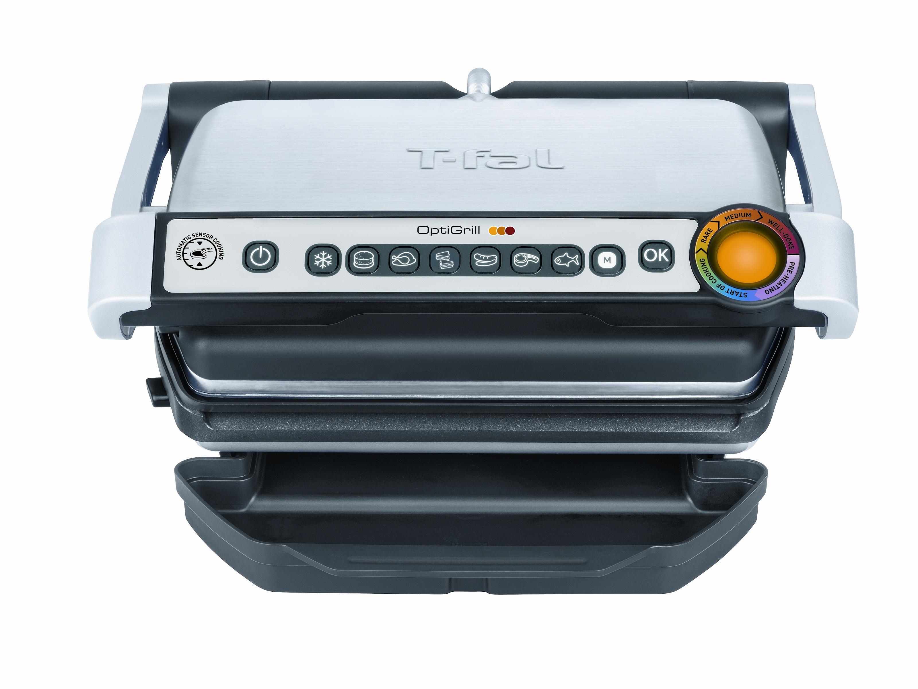T fal gc702d optigrill indoor electric grill 100 healthy - T fal optigrill indoor electric grill ...