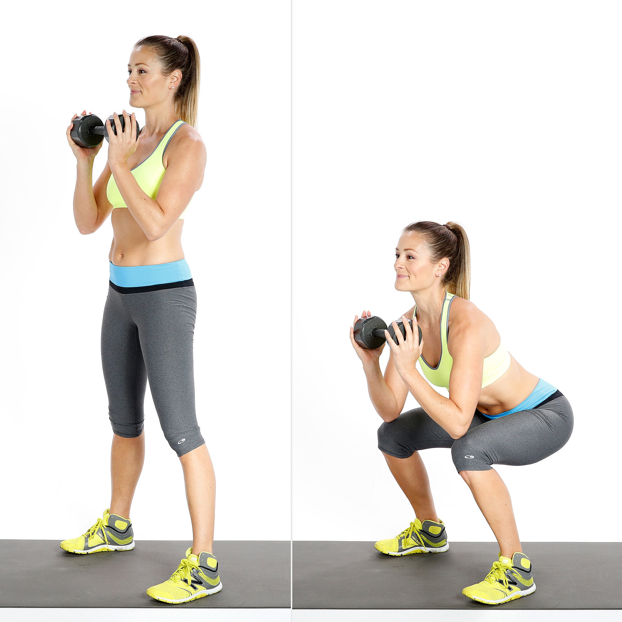 Goblet Squats | Feel the Burn! 7 Ways to Work Your Body ...
