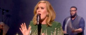 "The First Time Adele Sings ""Hello"" Live Is Obviously Earth-Shattering"