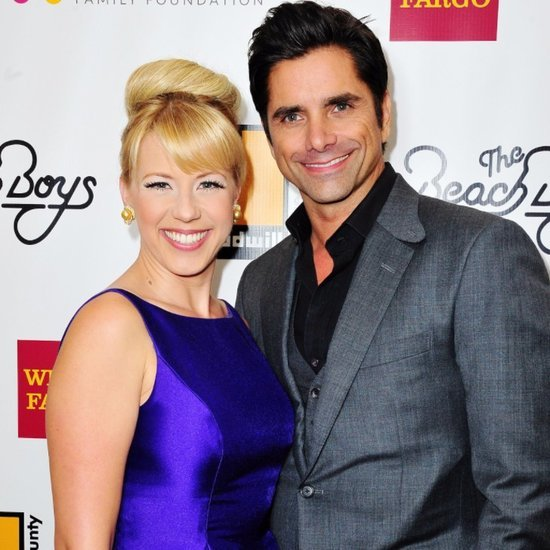 John Stamos and Jodie Sweetin at the Goodwill Gala 2015