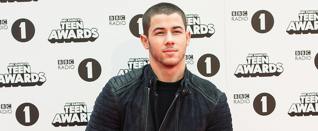 Nick Jonas Shows Off His Smouldering Good Looks at the BBC Teen Awards