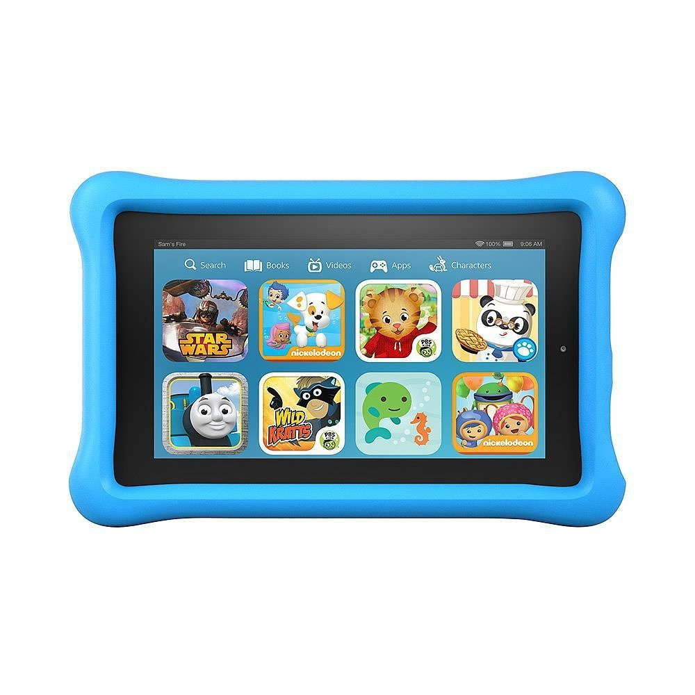 "For 5-Year-Olds: Amazon Fire Kids Edition, 7"" Display, Wi-Fi, 8 GB"