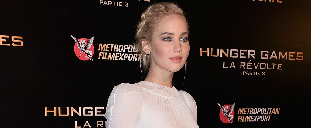 Jennifer Lawrence Is Angelic at the Paris Premiere of Mockingjay — Part 2