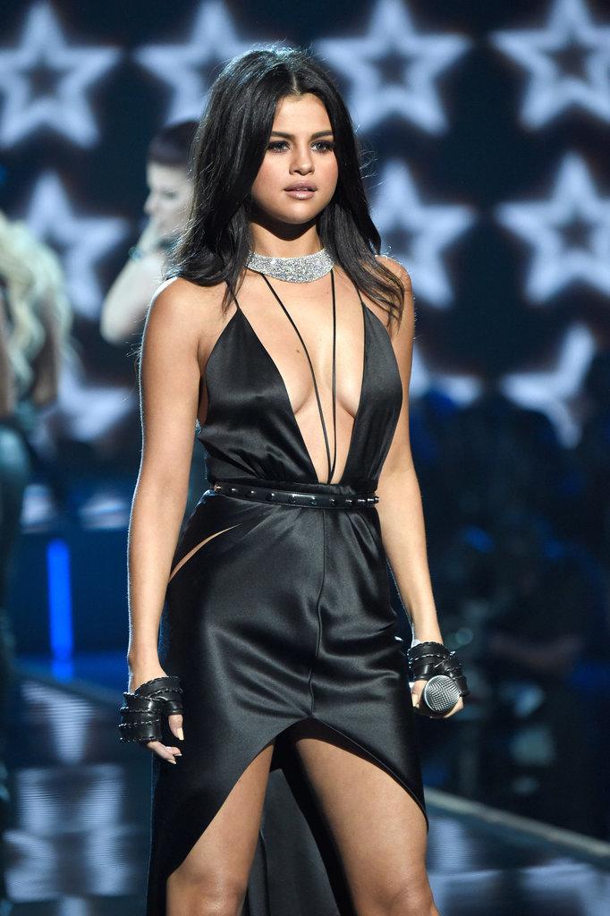 Selena Gomez at the 2015 Victoria's Secret Fashion Show ...
