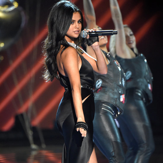 Selena Gomez at the 2015 Victoria's Secret Fashion Show