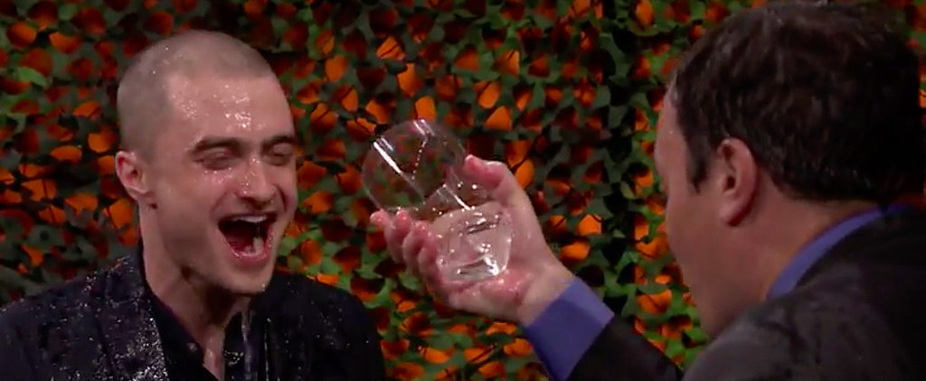 Daniel Radcliffe Has Way Too Much Fun in His Water War With Jimmy Fallon