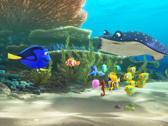 Just Keep Swimming! Ellen DeGeneres Reveals the First Trailer for Nemo Sequel Finding Dory