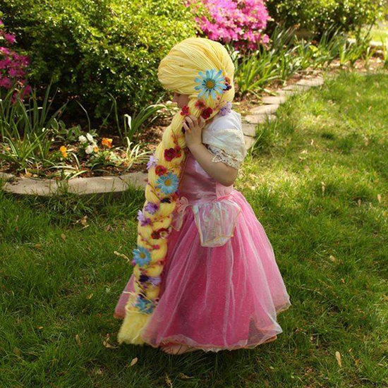 Mom Makes Princess Wigs For Children With Cancer