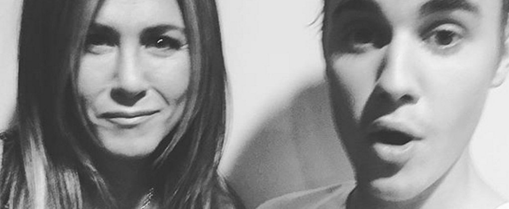 Justin Bieber Snaps a Selfie With Jennifer Aniston — What Does It Mean?