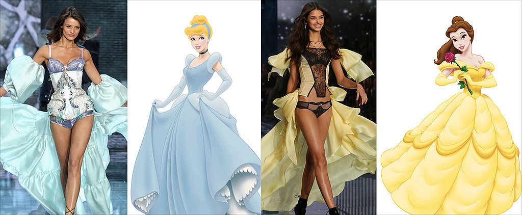12 Disney Princess Looks From the VS Runway