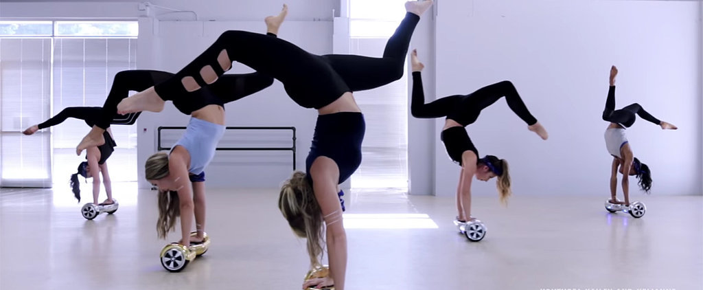 """You Need to See This Acrobatic Routine on Hoverboards Set to Justin Bieber's """"Sorry"""""""