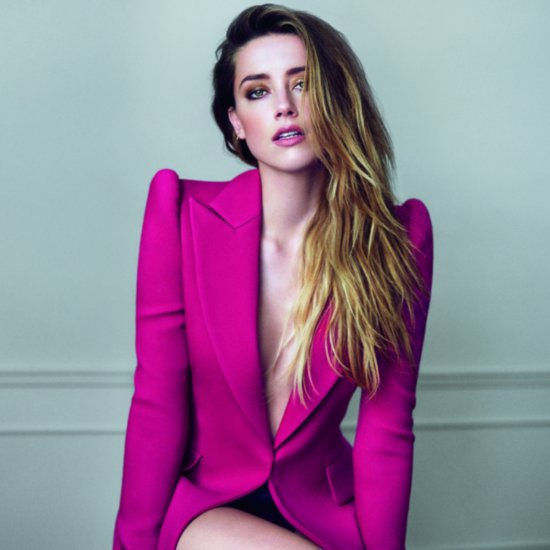 Amber Heard on Marie Claire Cover December 2015